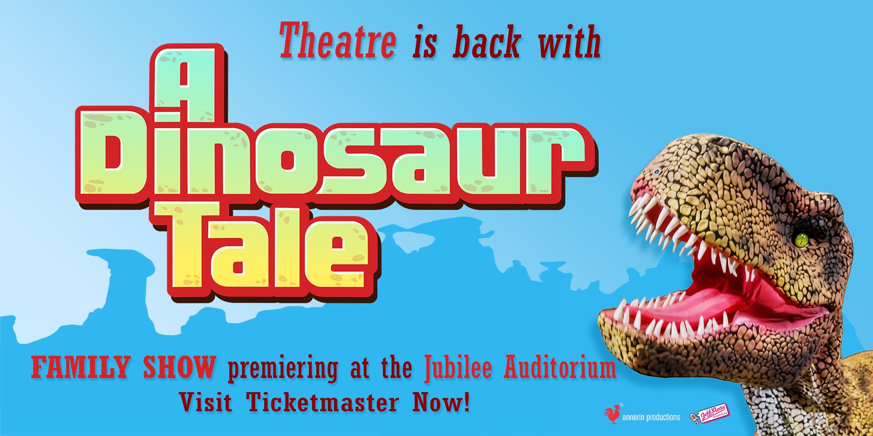 A Dinosaur Tale Logo