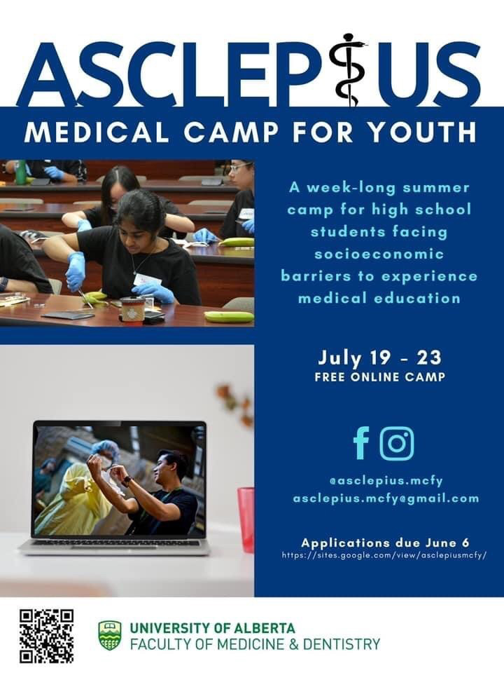 Asclepius Medical Camp for Youth Logo