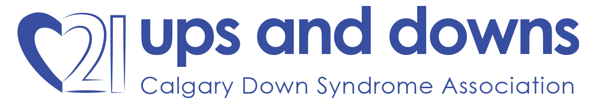 Ups and Downs - Calgary Down Syndrome Association Logo